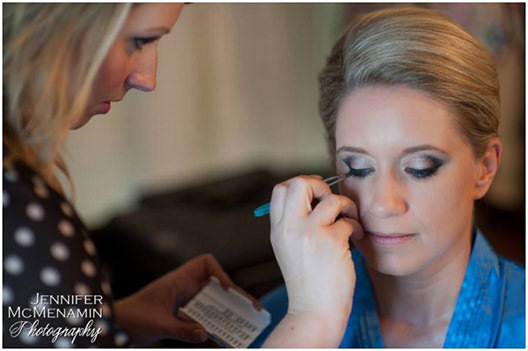 feature wedding erin and chris baltimore bridal beauty