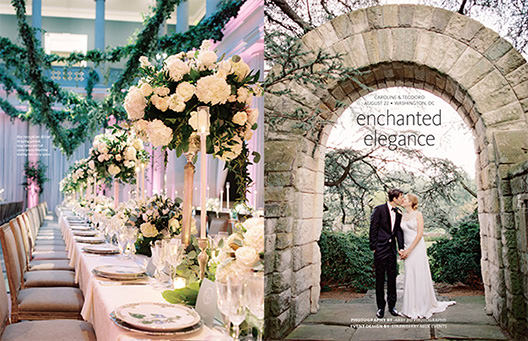 DC Wedding Published in The Knot Magazine: Amie Decker Beauty